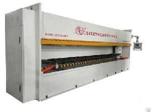 cnc vertical v grooving machine metal plate
