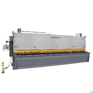 cnc hydraulic shearing machine heavy sheet metals