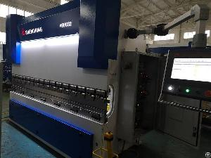 servo hybrid cnc press brake machine energy saving