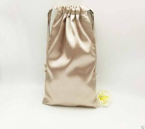 Silk Satin Drawstring Promotional Bag