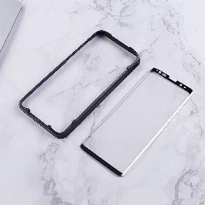 adhesive curved edge glass screen guard applicator samsung s9 plus