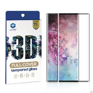 samsung galaxy note 10 covered tempered glass screen protector