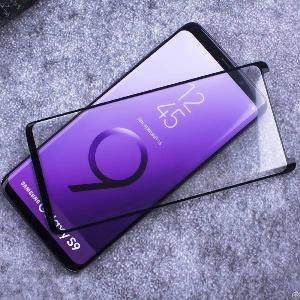 samsung galaxy s9 plus covered curved edge tempered glass screen protector