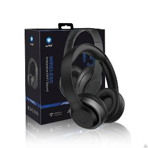 Wireless Bluetooth Headphones Over Ear With Microphone And Volume Control