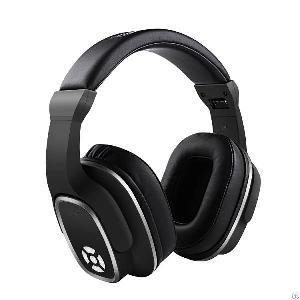 wireless bluetooth headphones mic ear deep bass foldable headset pc tablet cellphone