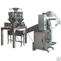 vfm200gl multiheads weigher economic granule packaging machine