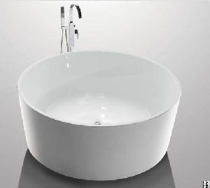 acrylic freestanding soaking tubs spaces round shape yx 732