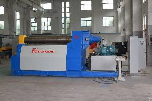 Four Roller Plate Bending Roll Machine For Sheet Metal