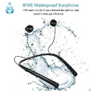 q14 ipx5 waterproof smart magnetic wireless bluetooth earphonrs