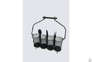 mesh caddy organizer utensils