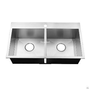 basin 50 counter stainless kitchen sink