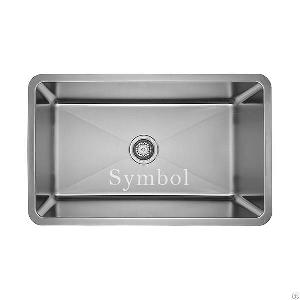deep basin undermount stainless steel sink