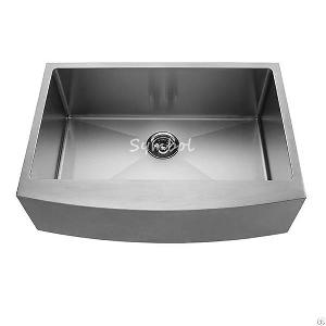 bowl apron front stainless steel sink