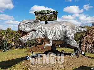 animatronic dinosaur t rex ad 337