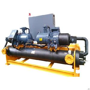 auto switch water cooled screw chiller