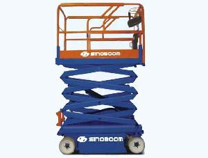 propelled electric scissor lift 7m