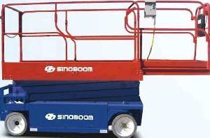 scissor lift 8m