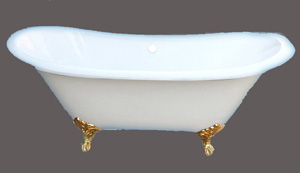 clawfoot cast iron bathtub rl cf 001