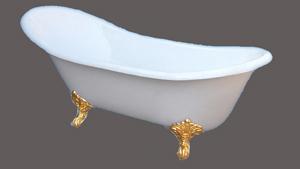 clawfoot cast iron bathtub rl cf 005