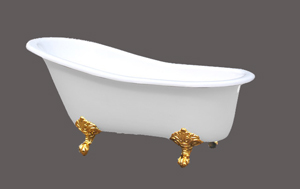 luxurious cast iron bathtub rl cf 002