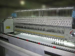 rpqe multi needle quilting embroidery machine row