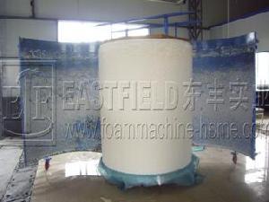 batch foaming machine polyurethane foam