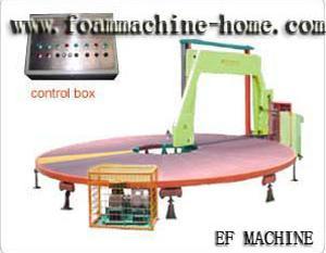 foam carrousel cutting horizontal