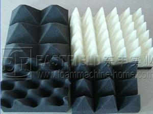 foam profile cutting convoluter