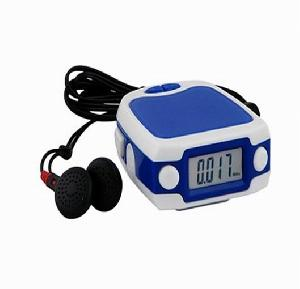 logo branding promotional gifts fm radio step counter calorie isinotech