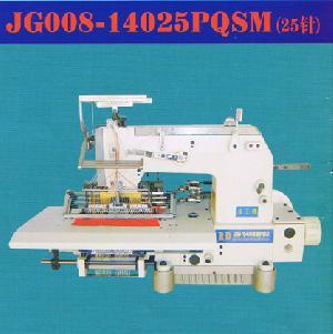33 needle elastic thread smocking sewing machine bottom