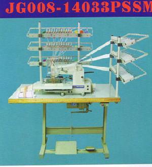 33 needle elastic thread smocking sewingmachine