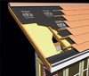 pitched permeable roofing underlay