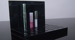 display counter cosmetic makeup