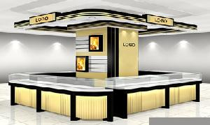 Glass Display Showcases For Retail Jewellery Store