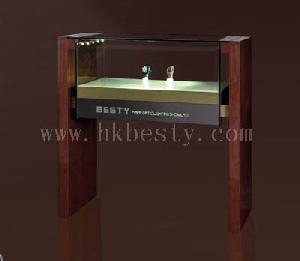 Glass And Wood Showcases For Famous Brand Watchs