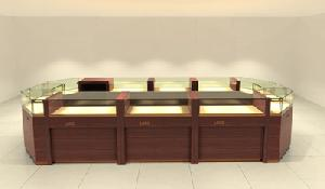 jewellery diamond store showcase display cabinets