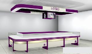 led lighting system display cabinets jewellery store