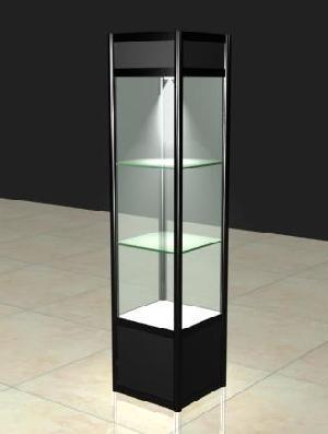 metal display cabinet showcase