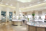 Wood Retail Showcases With Led Lighting For Diamond Store