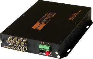 8ch video fiber converter