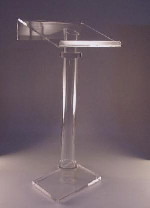 modern acrylic pulpit