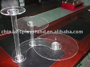 3 tier cake display acrylic