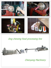 dog chewing jam pet food machine