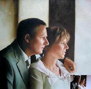 100 handmade portrait oil painting canvas