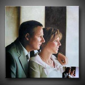paypal acceptable portrait oil painting
