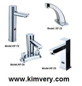 sensor inductive basin faucet
