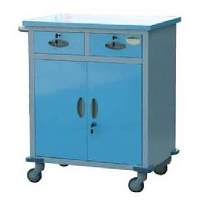 multi closed drug trolley