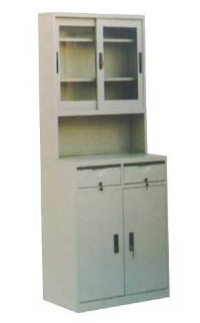 plastic sprayed steel drug cabinet