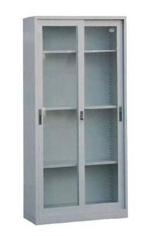 sliding door appliance cabinet