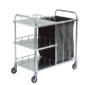 stainless steel nursing trolley